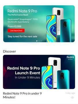 Redmi Note 9 Pro New