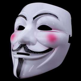 Topeng Anonymous Fawkes #HalloSkipper