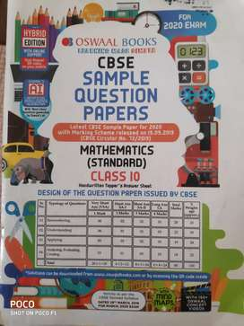 Mathematics sample Question Papers