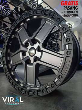 velg off road untuk mobil fortuner strada pajero velg ring 20 terbaru