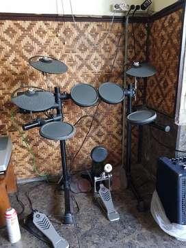 Drum Electrik Yamaha DTX 450 lengkap dus book