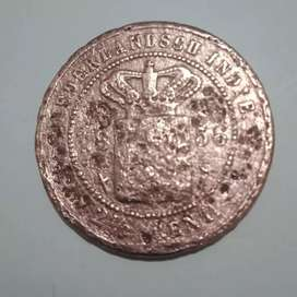 Uang   koin 1856