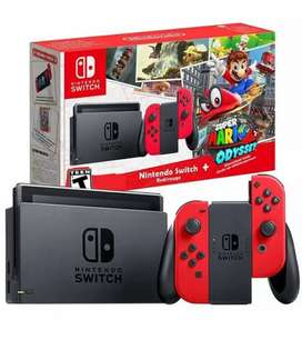 WTB Nintendo Switch Mario Odyssey Bundle