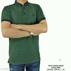 Kaos pria lengan pendek Polo Shirt