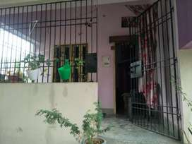 2 bhk flat, one drawing hall, one dinning hall, one balcony.