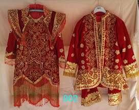 Baju pengantin adat minang