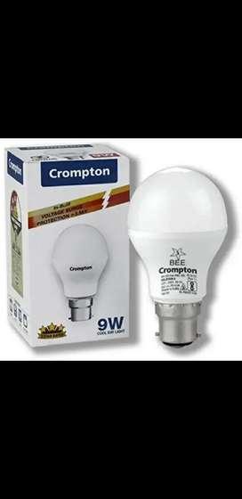 9W bulb crompton make- Rs.85