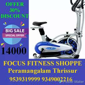 All Fitness Equipments available at Thrissur