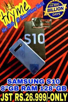 TRYME 8GB/128GB SAMSUNG S10 Brand new Condition