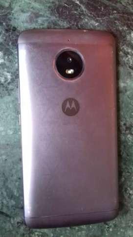 Moto 4 Plus. Silver colour