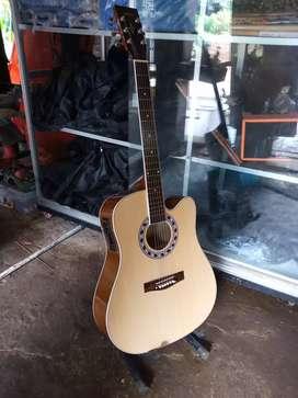 Gitar akustik jumbo new