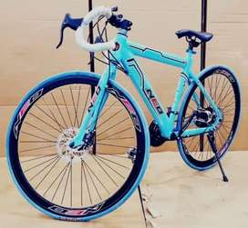 brand new road bicycle