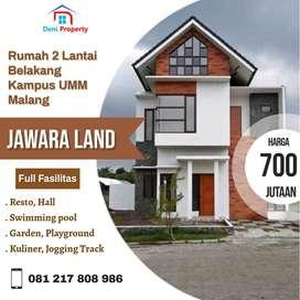 Rumah Mewah Full Fasilitas Poros Jalan Dekat Kampus Umm Jawara Land