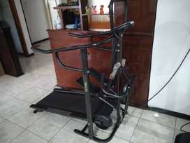 Treadmill Manual Multi Fungsi
