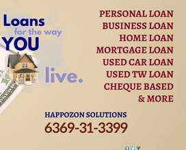 Instant Personal loan lowest interest with quick process Cheque based