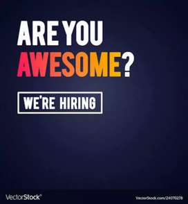 We are hiring a personal secretary