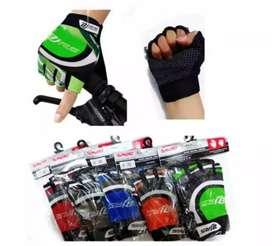 HS Sarung tangan sepeda mot or glove mat katun half tactical