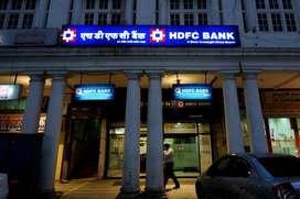 HDFC is hiring freshers & experienced. BULK hiring for HDFC banks. Lan