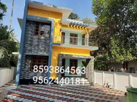 7 Cent Plot With 2400 Sq. Ft 5 BHK House in Madannada