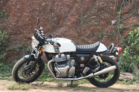 Fully loaded Royal Enfield Continental Gt 650 twin six months
