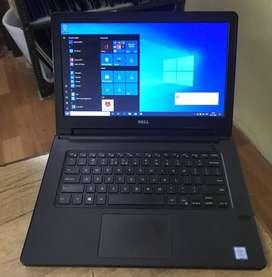 Dell intel -i3-7th(8GB-1TB)laptop