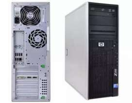 HP Z400 (Heavy PC Games)