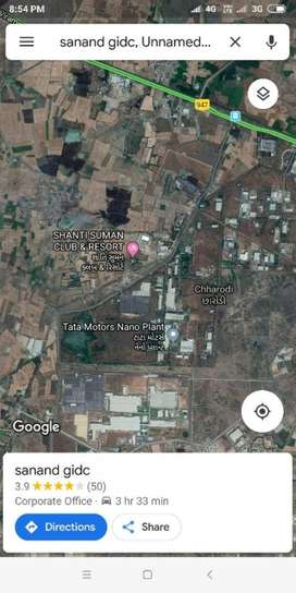 Ready Possession Industrial Plot at Sanand GIDC