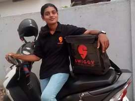 Swiggy urgently wanted delivery boys for full-time/part-time &weekends