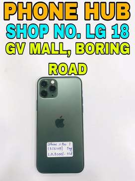 IPhone 11 Pro (256GB) Green Only 1 Day Old In Showroom Condition