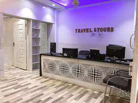 OFFICE FOR SALE : Furnished Office for Sale: Rent only 14000
