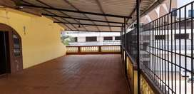3 bhk with big mezannine commercial or res on road touch opp stadium