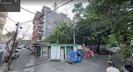 Kavling Hoek 3 Sisi Siap Bangun Izin Hotel di Mangga Besar, Jakarta