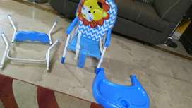 High chair for kids with Box