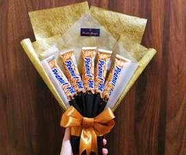 Buket snack murah cantik bisa sebagai hadiah