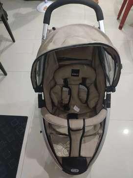 Stroller Babyelle Roda 3, Siap Pakai