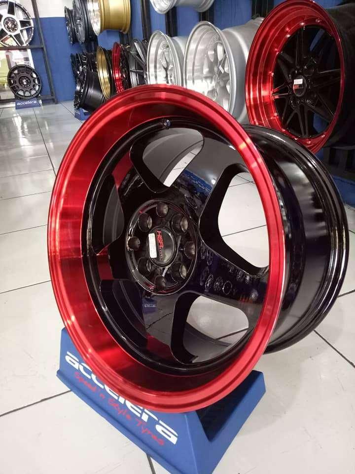 velg mobil racing ring 16x8/9 pcd 8x100-114 HSR 0