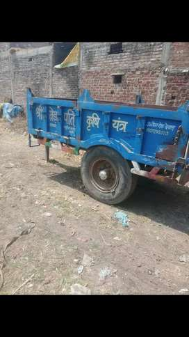 tractor k sath trolly newtop condition top engine  tractor 1 st owner