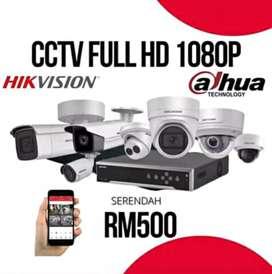 Pemasangan Online Kamera 2 mp di Bandung