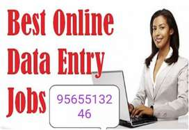 Earn today from tomorrow/ home based data entry job