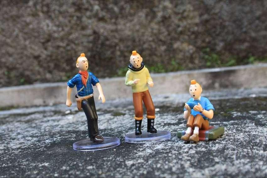 mainan action figure tin tin set B 0
