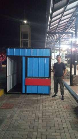 Booth container / customize sesuai kebutuhan dan burget