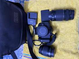 Canon 700D with 2 lens