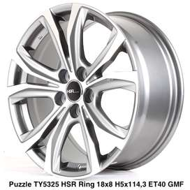 Velg Mobil HSR Ring 18 Untuk Ertiga Innova Alphard Lexus RX350 Almaz