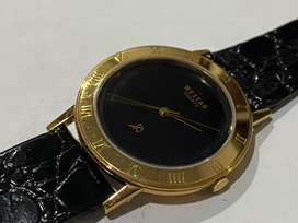 1980's 18k electro gold plated westar slim gents watch.GENUINE SWISS