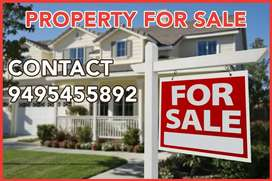 40 cent link road frontage commercial land for sale at Asramam