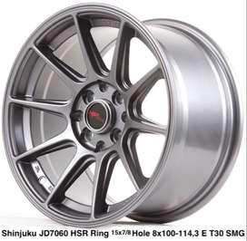 modiff SHINJUKU JD7060 HSR R15X7/8 H8X100-114,3 ET35/30 SMG