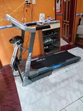 Tl 270 incline Treadmill big size dengan 3fungsi