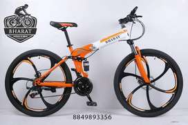 X6 Foldable Bharat Cycle, 21 Gears Brand New Hybrid 2021