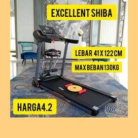 promo treadmill elektrik shiba hG-847 electric tredmil