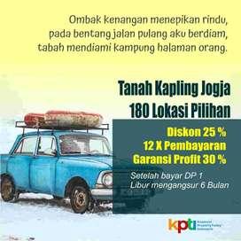 Kavling Wates, Mangku Aspal, Cicilan Bunga 0%
